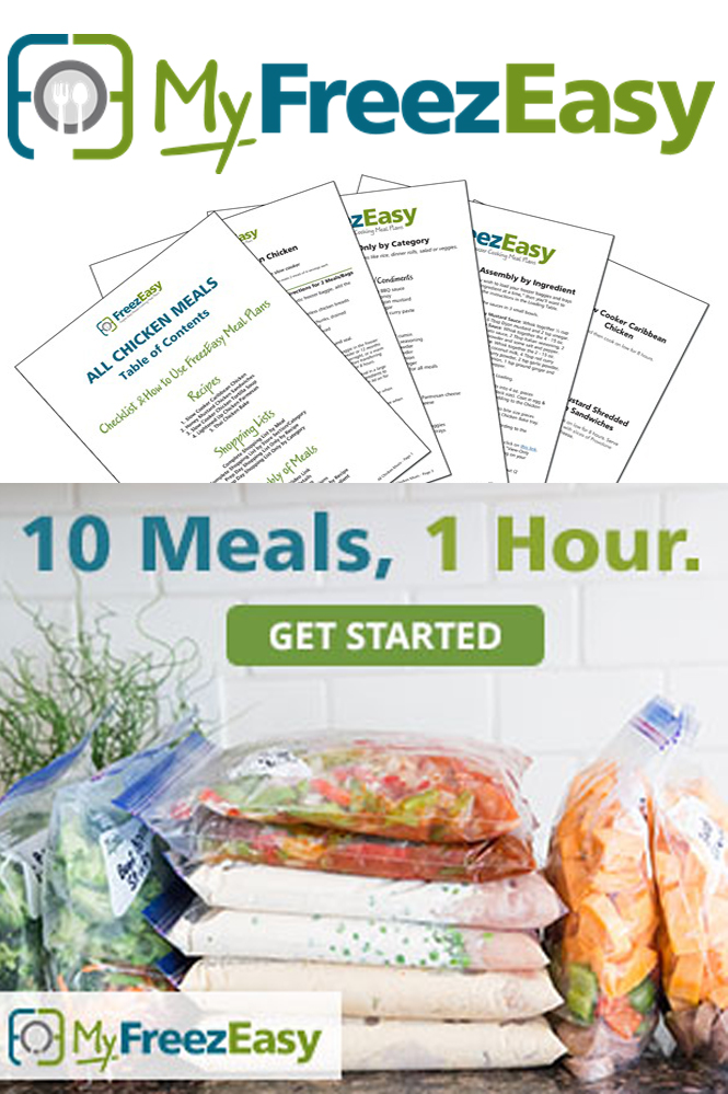 {Review} Fill Your Freezer with 10 Meals in under 1 Hour!