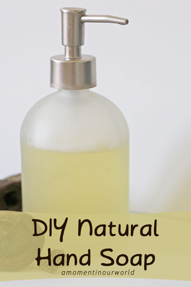 This DIY Natural Hand Soap is easy to make and has proven to be a good choice for our family.