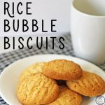 Growing up with my mum baking these Rice Bubble Biscuits, I knew that I had to bake them for our boys too.