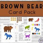 Brown Bear Card Pack