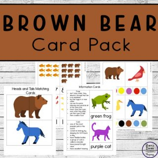 Brown Bear Card Pack