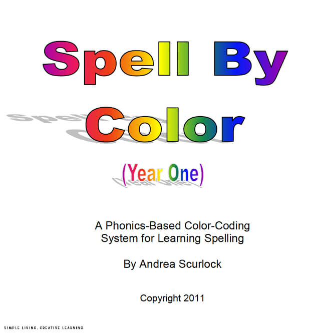 Spell By Color