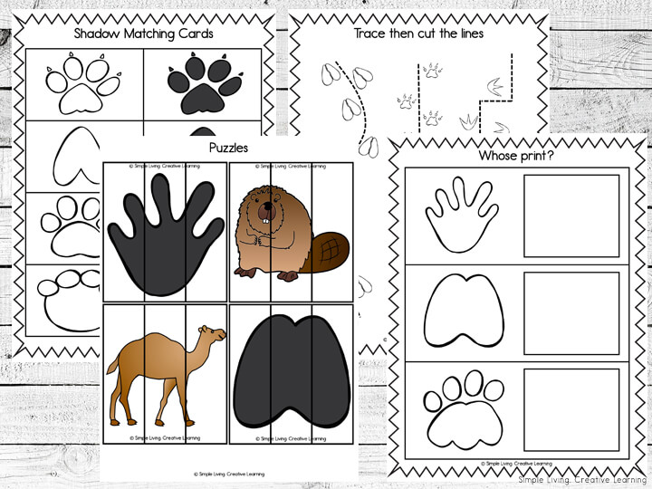 Animal Print Mini Printable Pack