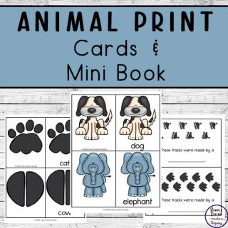 With the help of these animal print cards and mini book, your children will be having fun and identifying animal footprints with ease.