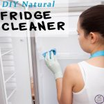 Now, using this simple, DIY natural fridge cleaner, my fridge is as clean as new and smells fresh once again.