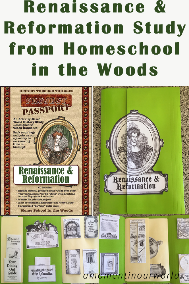 Study the Renaissance and Reformation Period with this great study from Homeschool in the Woods.