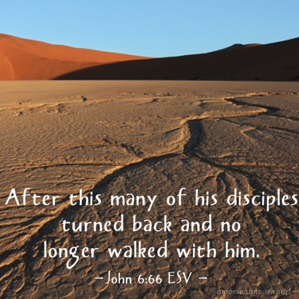 Printable Monday Memory Verse Pack for Kids: John 6:66