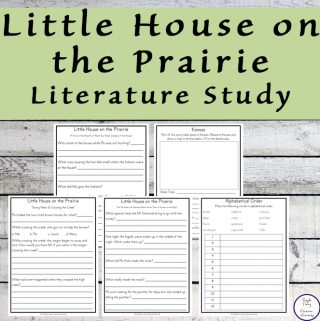 This Little House on the Prairie Literature Study goes well with the third book in the Little House Series written by Laura Ingalls Wilder. It tells the story of the time the Ingalls family spent on the prairie of Kansas.