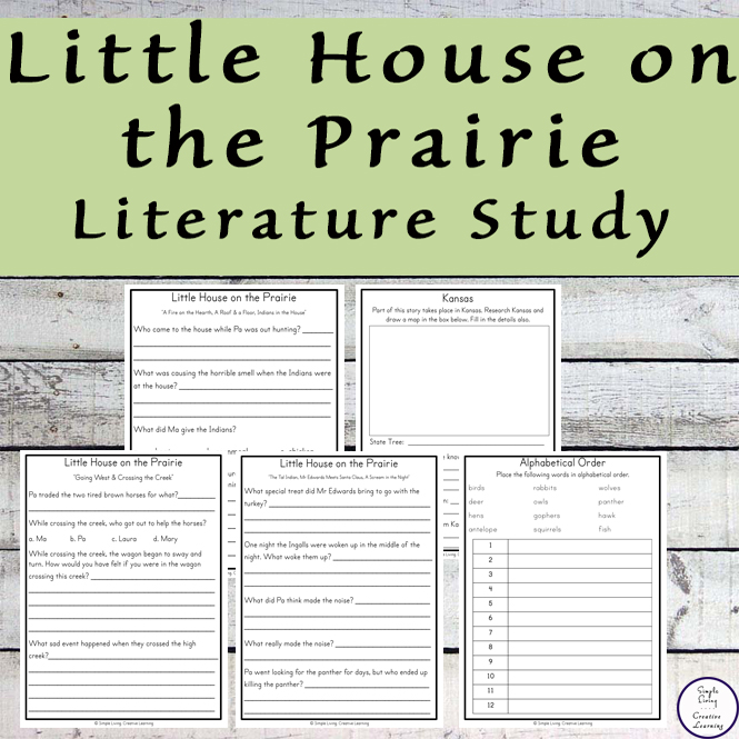 Little House on the Prairie Literature Study