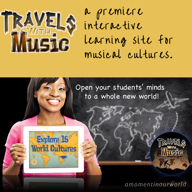 This non-profit organisation has done a great job of providing a premiere interactive learning site for musical cultures.