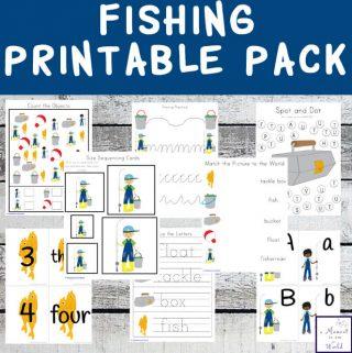 Fishing Printable Pack