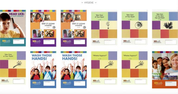 MarshMedia produces health education products for grades K through 8.