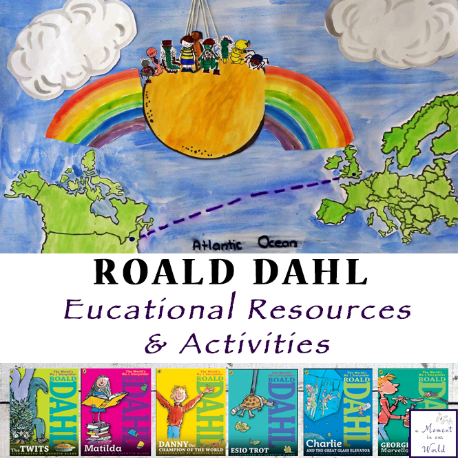 Loads of Roald Dahl Educational Activities and Resources.