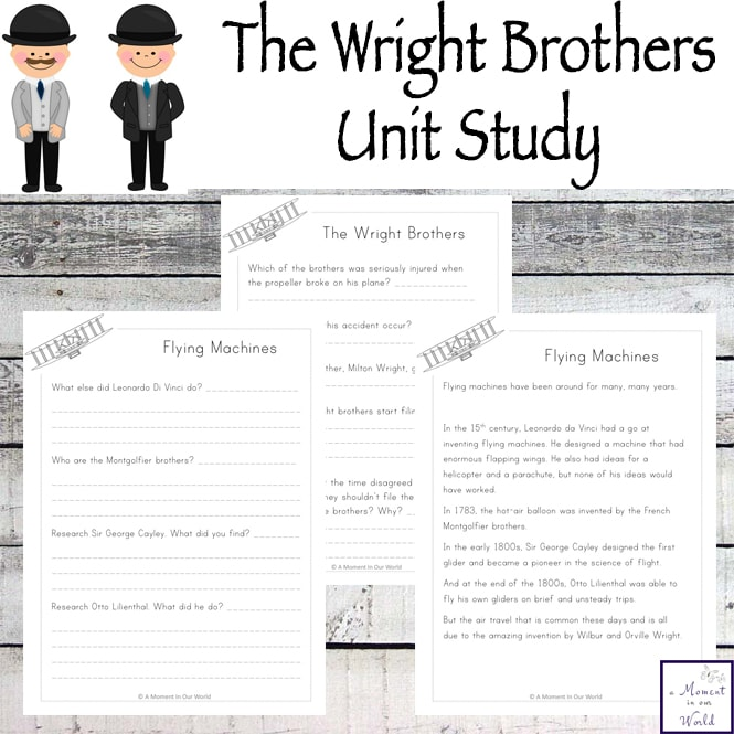 Wright Brothers Unit Study
