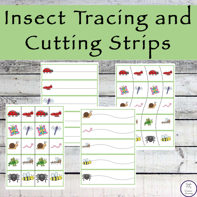 Insect Tracing and Cutting Strips