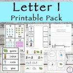 This Letter I Printable Pack is aimed for children aged 3 - 9 and contains a variety of activities; simple math concepts, literacy and hands-on activities.