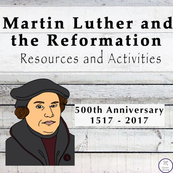 Loads of resources and activities for learning about Martin Luther and the Reformation.
