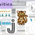 This Letter J Printable Pack is aimed for children aged 3 - 9 and contains a variety of activities; simple math concepts, literacy and hands-on activities.