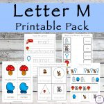 This Letter M Printable Pack is aimed for children aged 3 - 9 and contains a variety of activities; simple math concepts, literacy and hands-on activities.