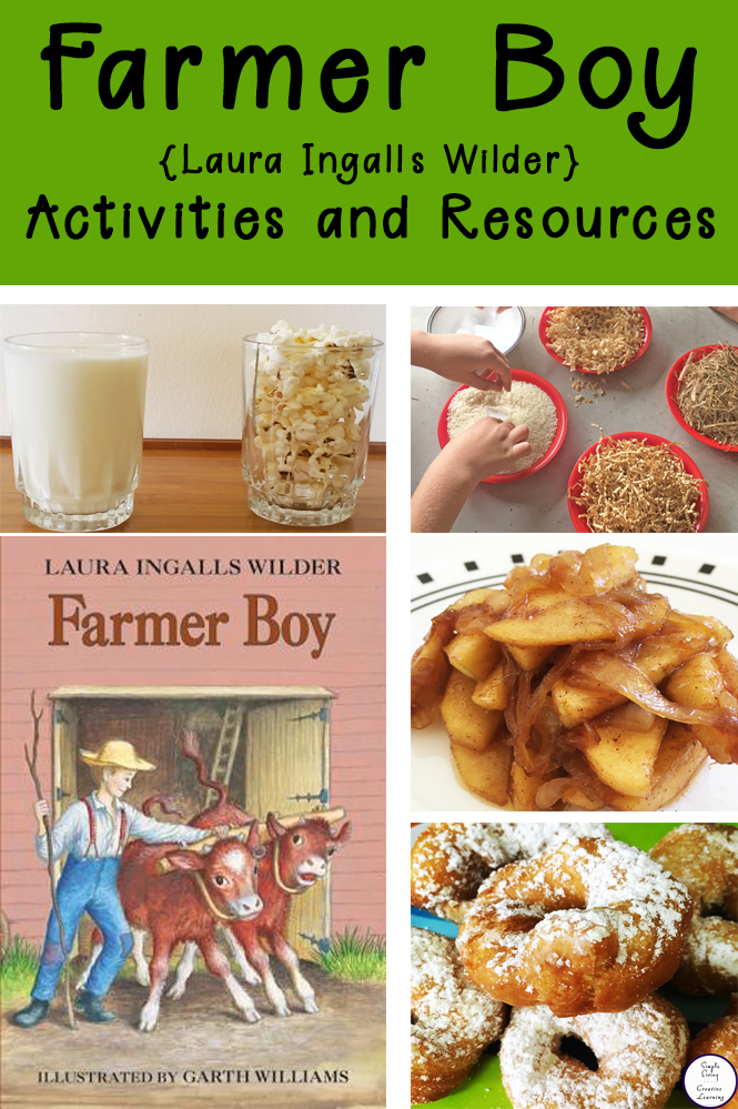A huge list of activities and resources for you Farmer Boy {Laura Ingalls Wilder} Unit.