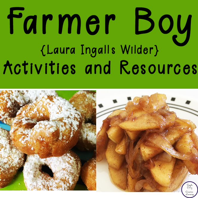 A huge list of activities and resources for your Farmer Boy {Laura Ingalls Wilder} Unit.