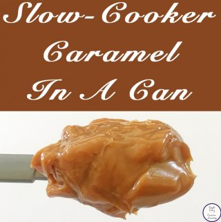 There is just something about slow-cooker caramel in a can that makes the caramel so delectable. It's just amazing! It also makes for a great caramel tart.