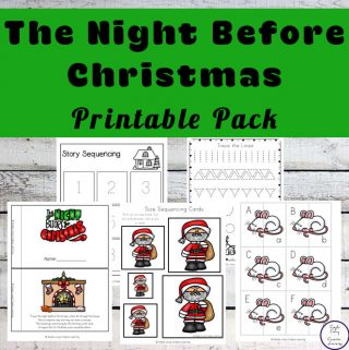 T'was the Night Before Christmas Printable Pack