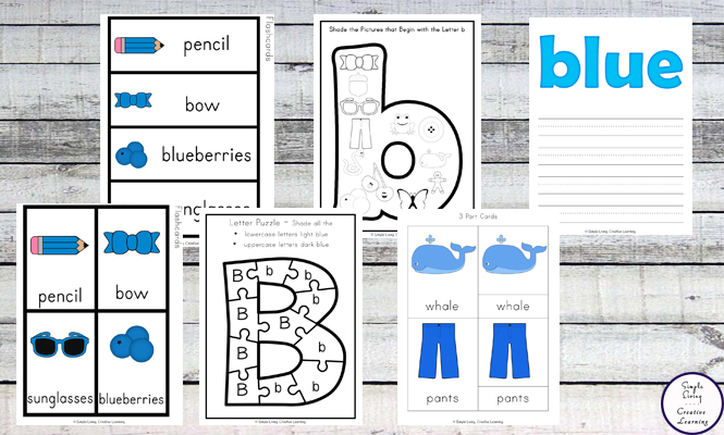 This Blue Printable Pack is aimed for children aged 3 - 9 and contains a variety of activities; simple math concepts, literacy and hands-on activities with a 'blue' theme.