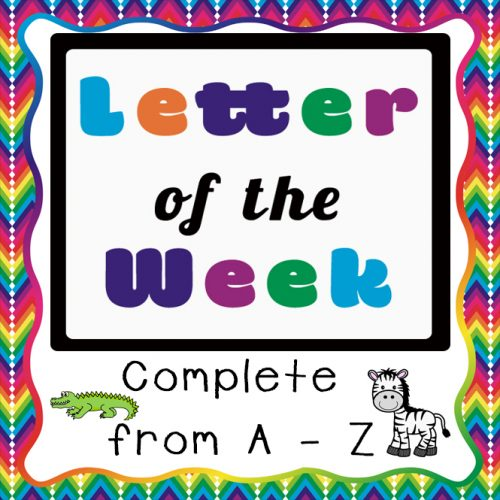 Letter {Alphabet} Printable Packs