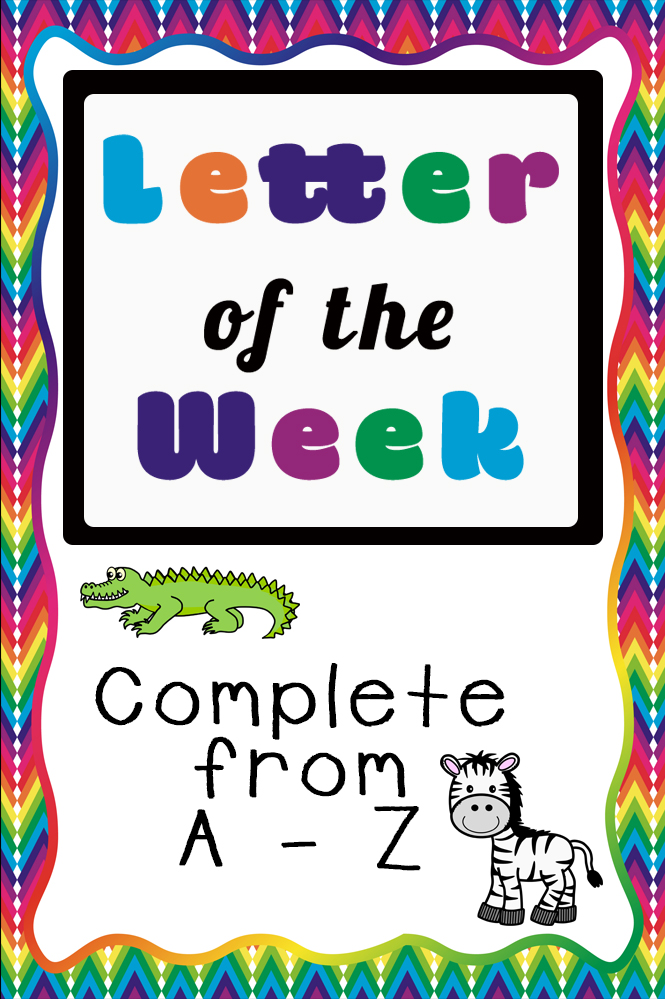 Letter Of The Week Alphabet Printable Packs Simple Living. These Letter Alphabet Printable Packs Are Aimed For Children Aged 3 9 And. Printable. Alphabet Printable At Mspartners.co