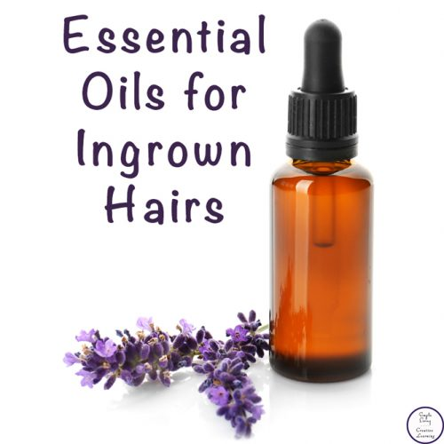 There are many ways to reduce the occurrences of these ingrown hairs as well as natural ways to help clear up the ingrown hairs with essential oils.