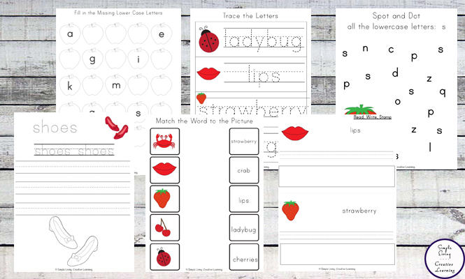 This Red Printable Pack is aimed for children aged 3 - 9 and contains a variety of activities; simple math concepts, literacy and hands-on activities with a 'red' theme.