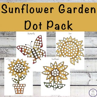 This free Sunflower Dot Pack go well with any Sunflower Unit.