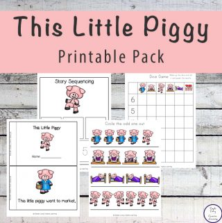 This Little Piggy Printable Pack