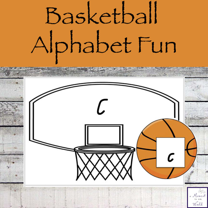 This free Basketball Alphabet Fun Pack is perfect for all those young basketball fans.