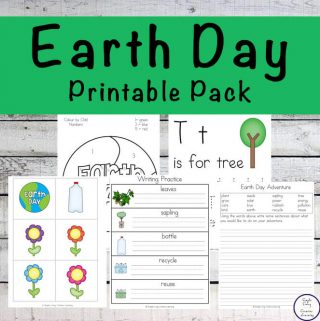 This Earth Day Printable Pack is aimed at children in grades one through three and is full of fun math and literacy activities.