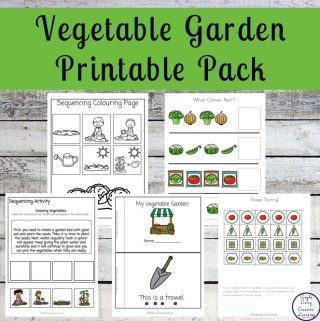 Vegetable Garden Printable Pack