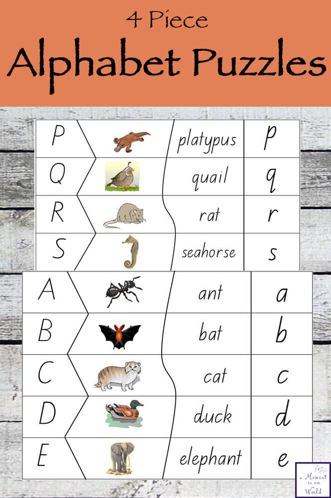 picture relating to Alphabet Puzzle Printable referred to as Printable Alphabet Puzzle - Uncomplicated Dwelling. Innovative Understanding