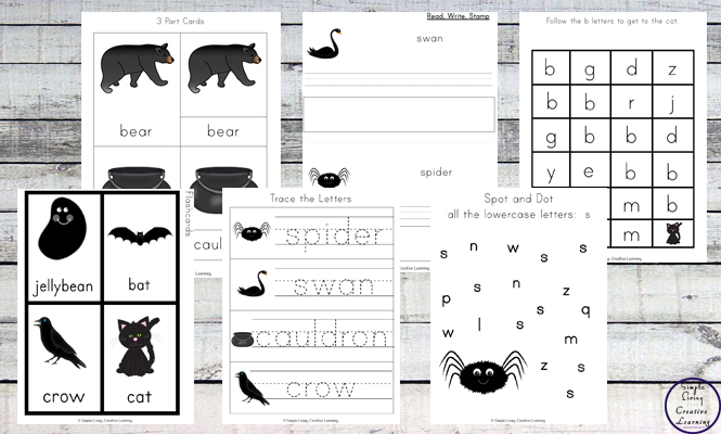 This Black Printable Pack is aimed for children aged 3 - 9 and contains a variety of activities; simple math concepts, literacy and hands-on activities with a 'black' theme.