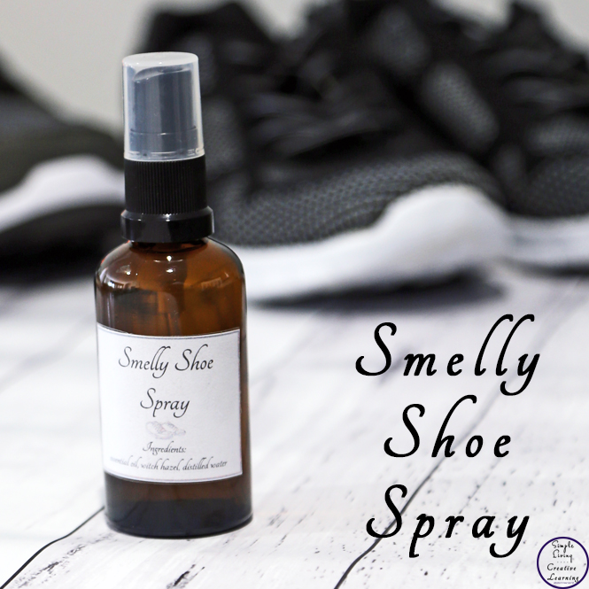 This DIY Smelly Shoe Spray is a powerful deodoriser, has antibacterial and anti fungal properties as well as a great disinfectant which makes even the smelliest of shoes smelling clean and fresh again.