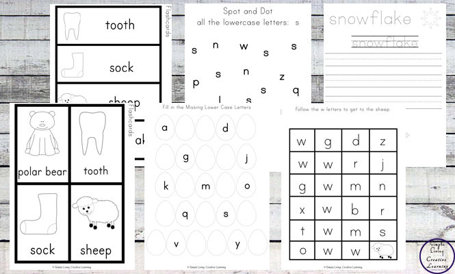 This White Printable Pack is aimed for children aged 3 - 9 and contains a variety of activities; simple math concepts, literacy and hands-on activities with a 'white' theme.