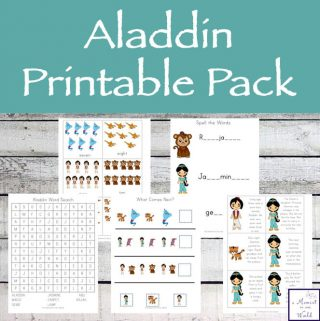 Aladdin Printable Pack