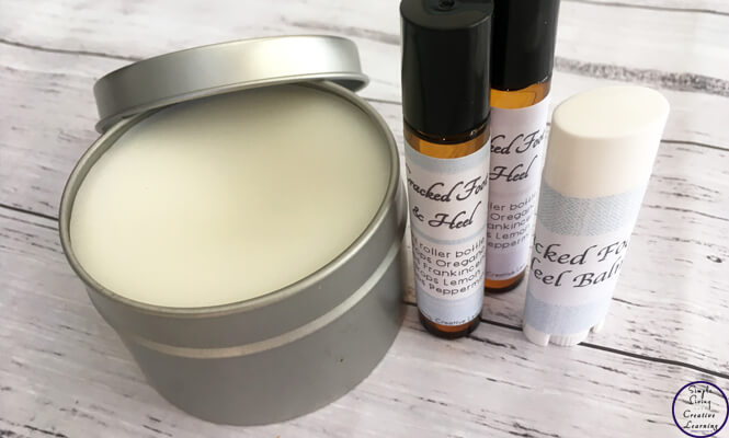 This DIY Cracked Foot & Heel Balm is a great way to moisturise and help heal the cracks that can appear on our feet.