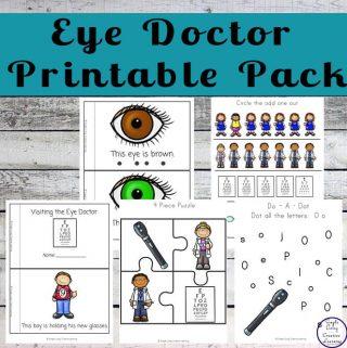 Eye Doctor Printable Pack