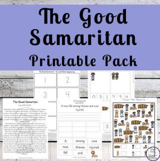 The Good Samaritan Printable Pack