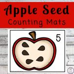 Apple Seed Counting Mats