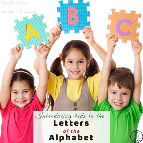 Teaching kids the letters of the alphabet is needed for reading and writing. Usually around the age of 2 children start showing an interest in learning these letters. Below is a list of some of my favourite ways to teach kids the letters of the alphabet.
