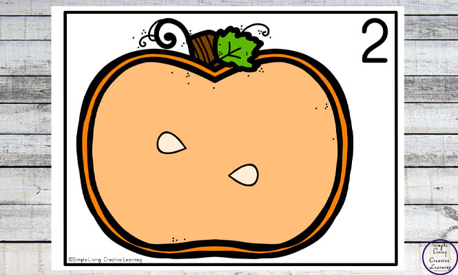 Focusing on the numbers 1 - 20, these Pumpkin Seed Counting Mats are a fun, hands-on math activity that preschoolers and toddlers will love.