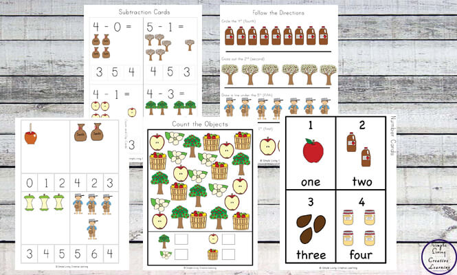 Learn more about Apples and the Apple Life Cycle with this fun Apple Printable Pack, aimed at children in preschool and kindergarten.