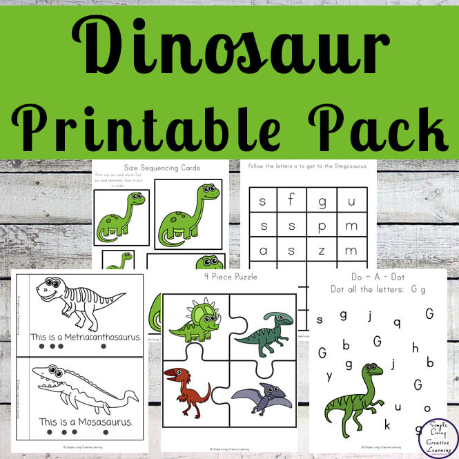 Dinosaur Printable Pack